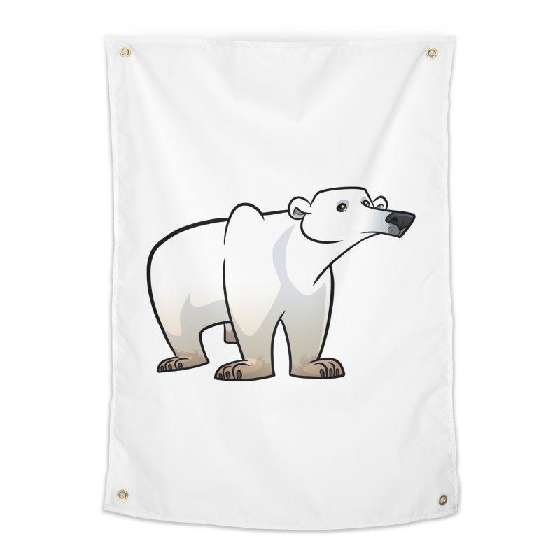 Polar Bear Home Tapestry by binarygod's Artist Shop