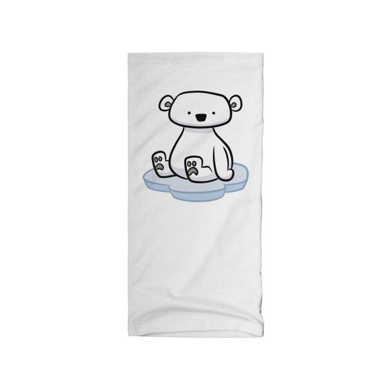 Polar Bear Kawaii Accessories Neck Gaiter by binarygod's Artist Shop