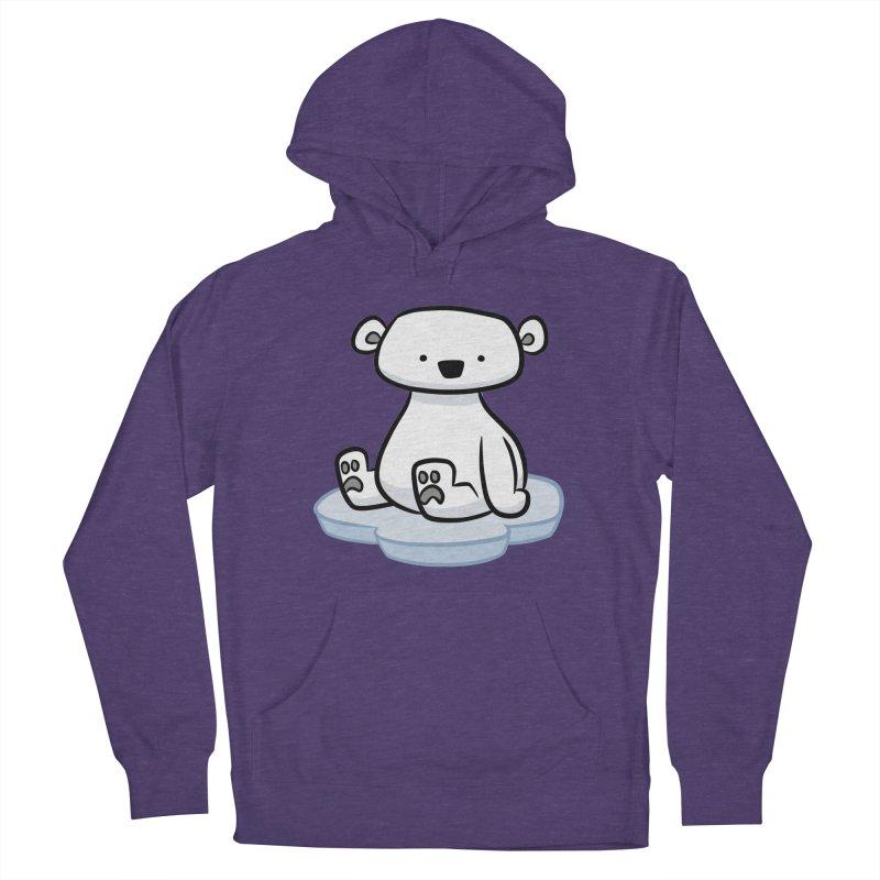 Polar Bear Kawaii Men's Pullover Hoody by binarygod's Artist Shop