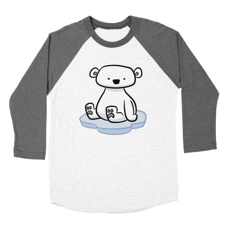 Polar Bear Kawaii Women's Longsleeve T-Shirt by binarygod's Artist Shop