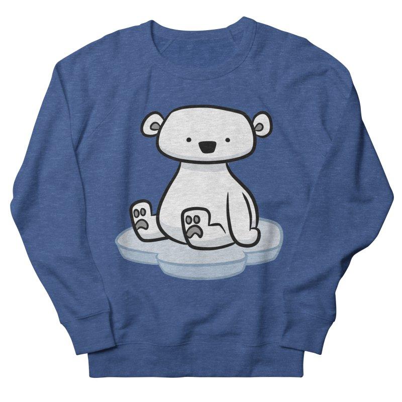 Polar Bear Kawaii Men's Sweatshirt by binarygod's Artist Shop