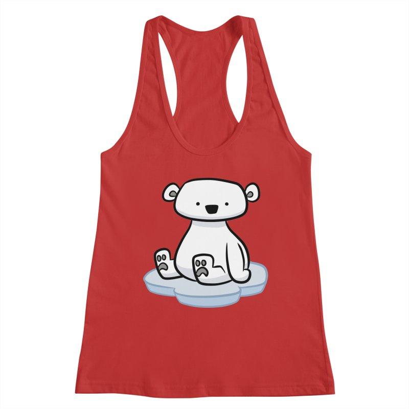 Polar Bear Kawaii Women's Tank by binarygod's Artist Shop