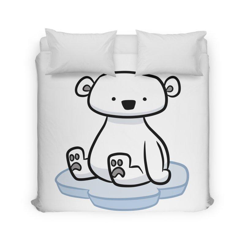 Polar Bear Kawaii Home Duvet by binarygod's Artist Shop