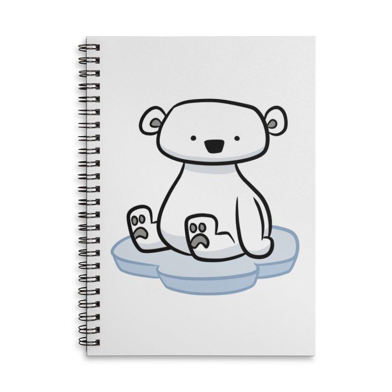 Polar Bear Kawaii Accessories Notebook by binarygod's Artist Shop