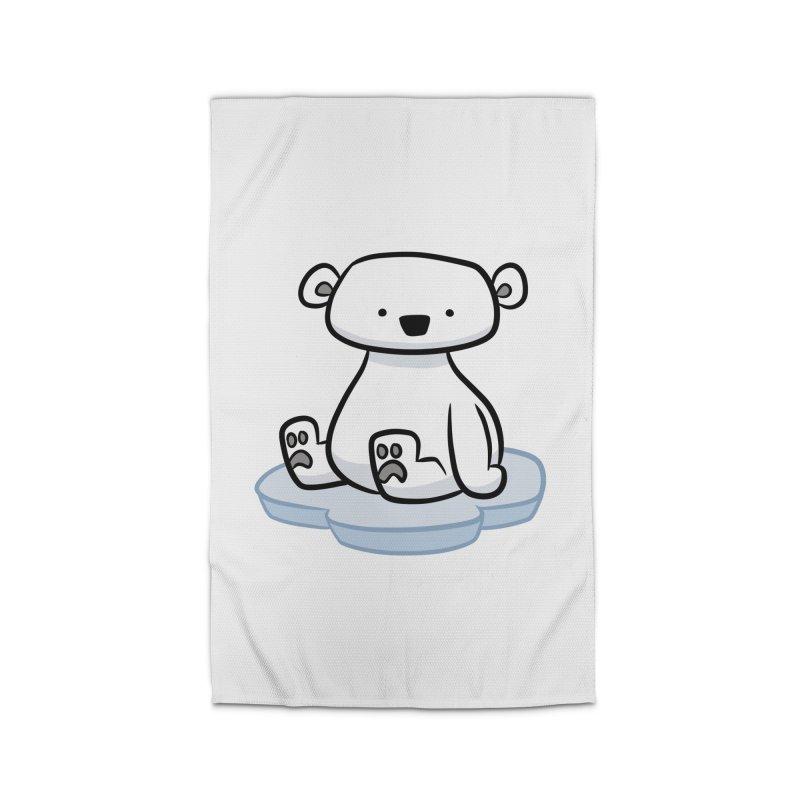 Polar Bear Kawaii Home Rug by binarygod's Artist Shop