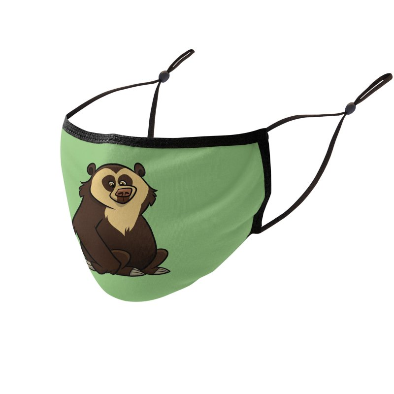 Spectacled Bear Accessories Face Mask by binarygod's Artist Shop