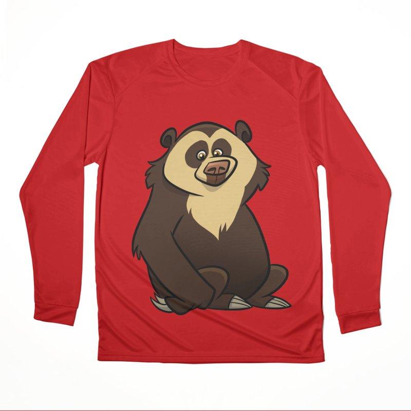 Spectacled Bear Women's Longsleeve T-Shirt by binarygod's Artist Shop