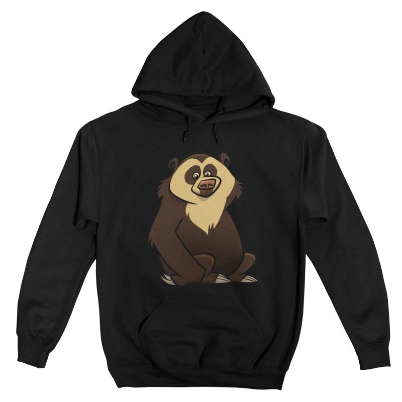 Spectacled Bear Men's Pullover Hoody by binarygod's Artist Shop