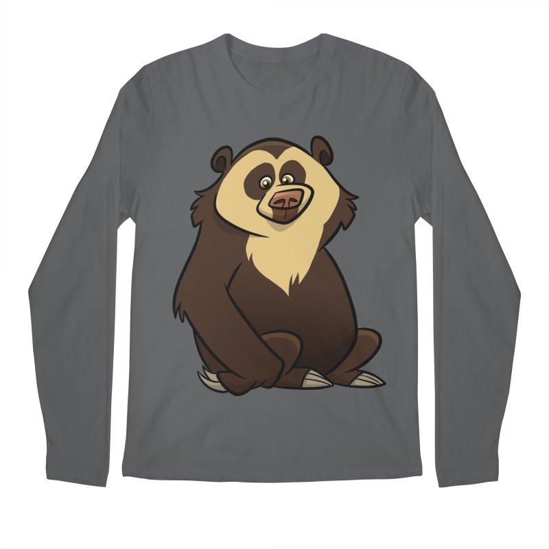 Spectacled Bear Men's Longsleeve T-Shirt by binarygod's Artist Shop