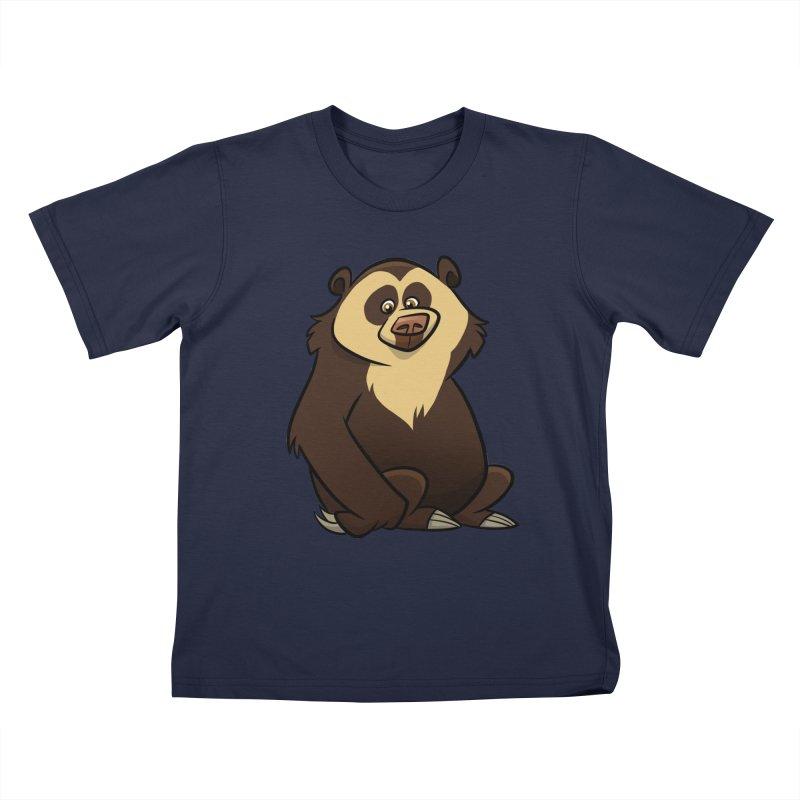 Spectacled Bear Kids T-Shirt by binarygod's Artist Shop