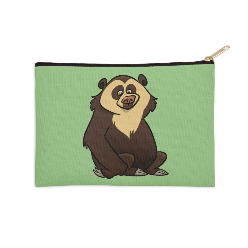 Spectacled Bear Accessories Zip Pouch by binarygod's Artist Shop