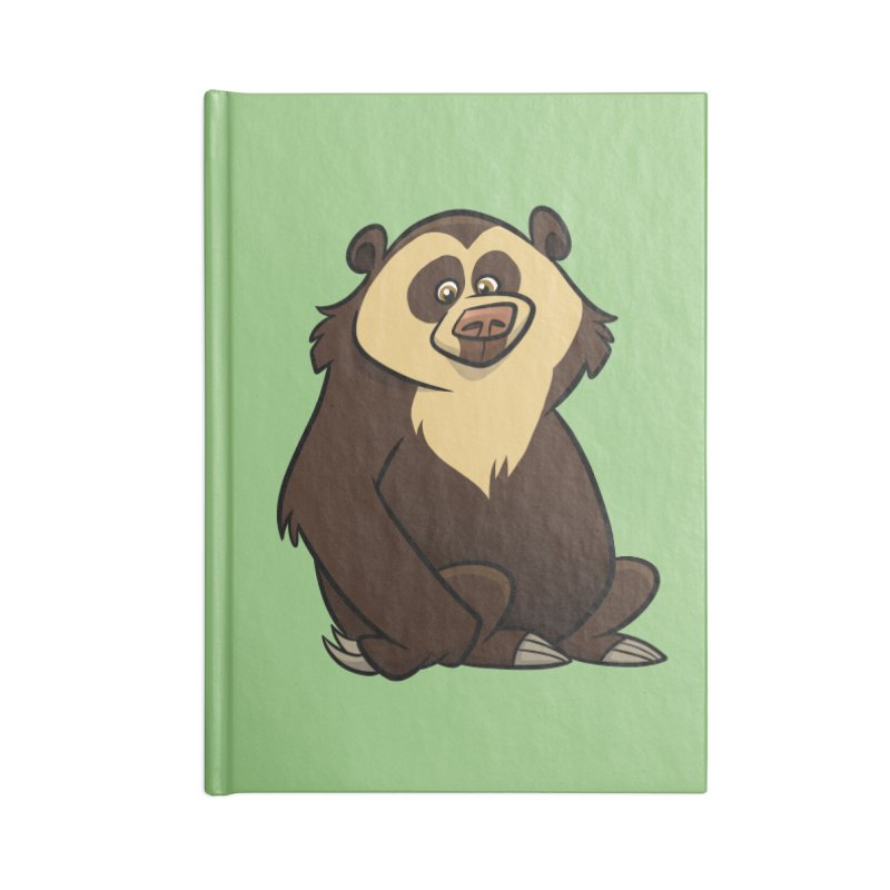 Spectacled Bear Accessories Notebook by binarygod's Artist Shop