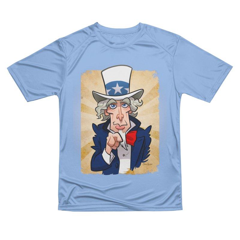Uncle Sam Men's T-Shirt by binarygod's Artist Shop