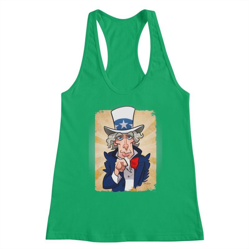 Uncle Sam Women's Tank by binarygod's Artist Shop