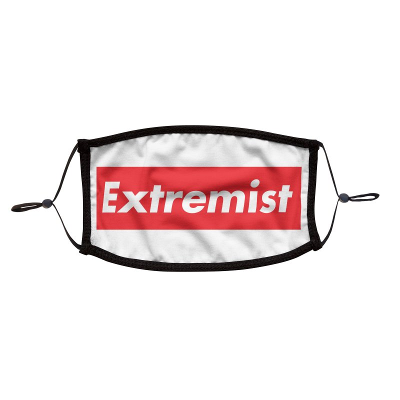 Extremist Accessories Face Mask by binarygod's Artist Shop