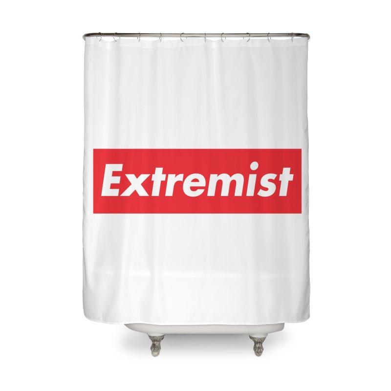 Extremist Home Shower Curtain by binarygod's Artist Shop