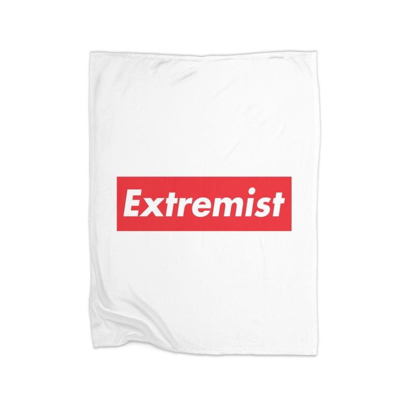 Extremist Home Blanket by binarygod's Artist Shop