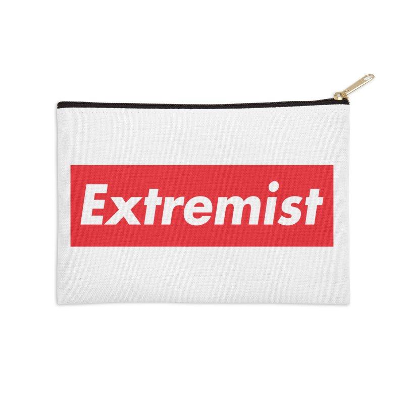 Extremist Accessories Zip Pouch by binarygod's Artist Shop