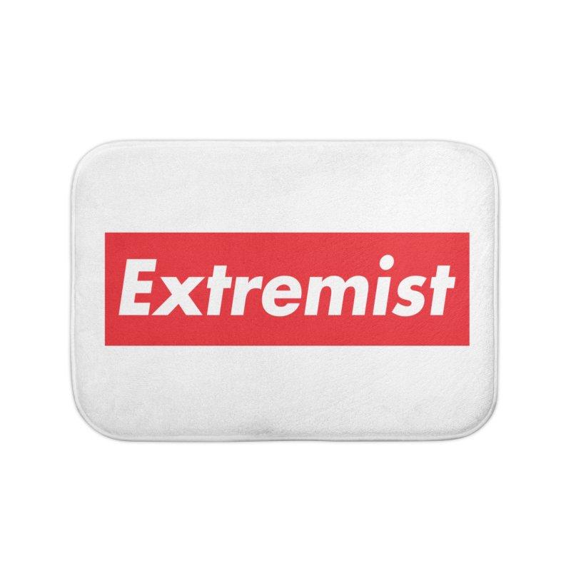 Extremist Home Bath Mat by binarygod's Artist Shop