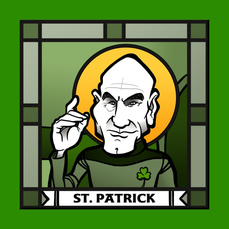 St. Patrick   by binarygod's Artist Shop