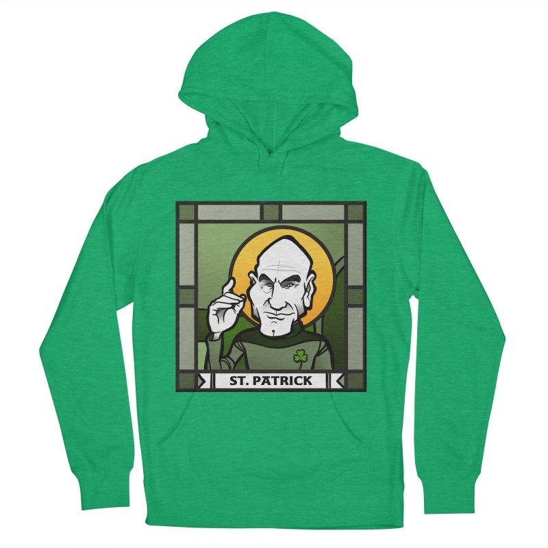 St. Patrick Men's Pullover Hoody by binarygod's Artist Shop