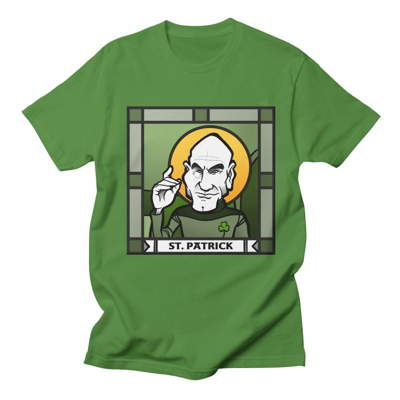 St. Patrick Men's T-Shirt by binarygod's Artist Shop