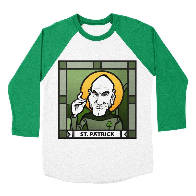 St. Patrick Women's Baseball Triblend T-Shirt by binarygod's Artist Shop