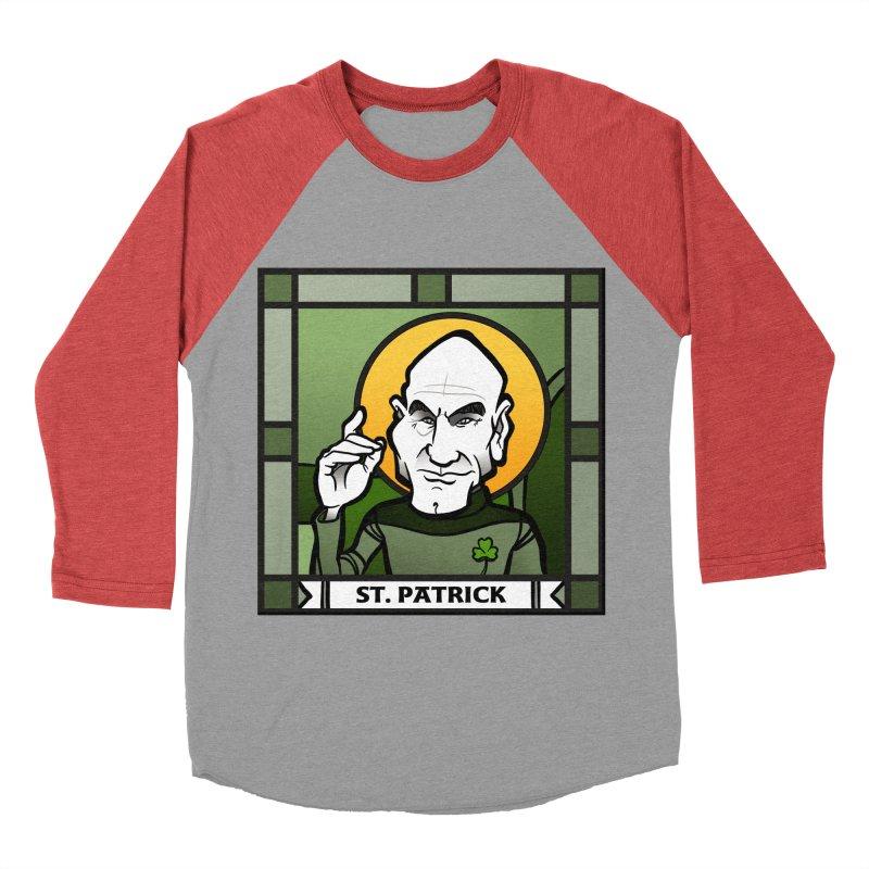 St. Patrick Men's Baseball Triblend T-Shirt by binarygod's Artist Shop