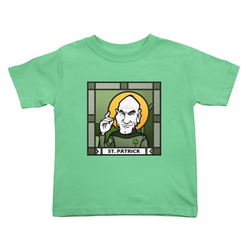 St. Patrick Kids Toddler T-Shirt by binarygod's Artist Shop