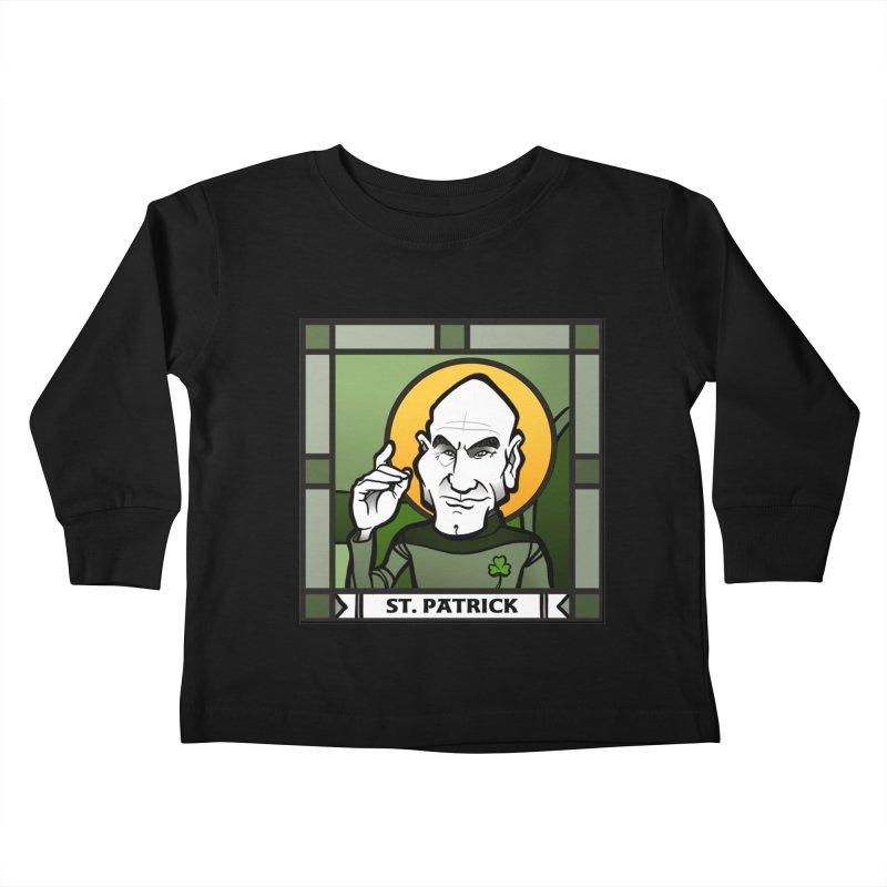 St. Patrick Kids Toddler Longsleeve T-Shirt by binarygod's Artist Shop