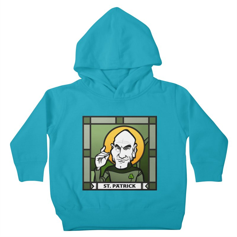 St. Patrick Kids Toddler Pullover Hoody by binarygod's Artist Shop