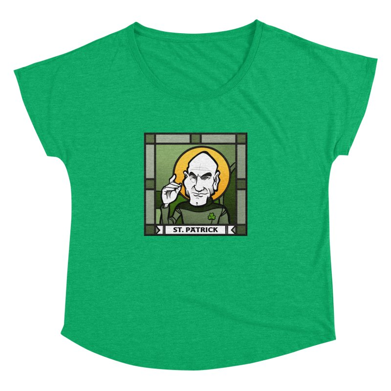 St. Patrick Women's Dolman by binarygod's Artist Shop