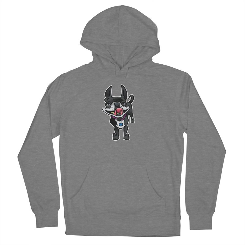 Yuk, Silly Dog Women's Pullover Hoody by binarygod's Artist Shop