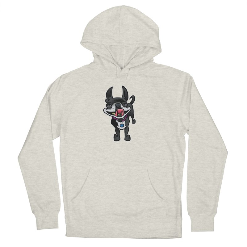 Yuk, Silly Dog Women's French Terry Pullover Hoody by binarygod's Artist Shop
