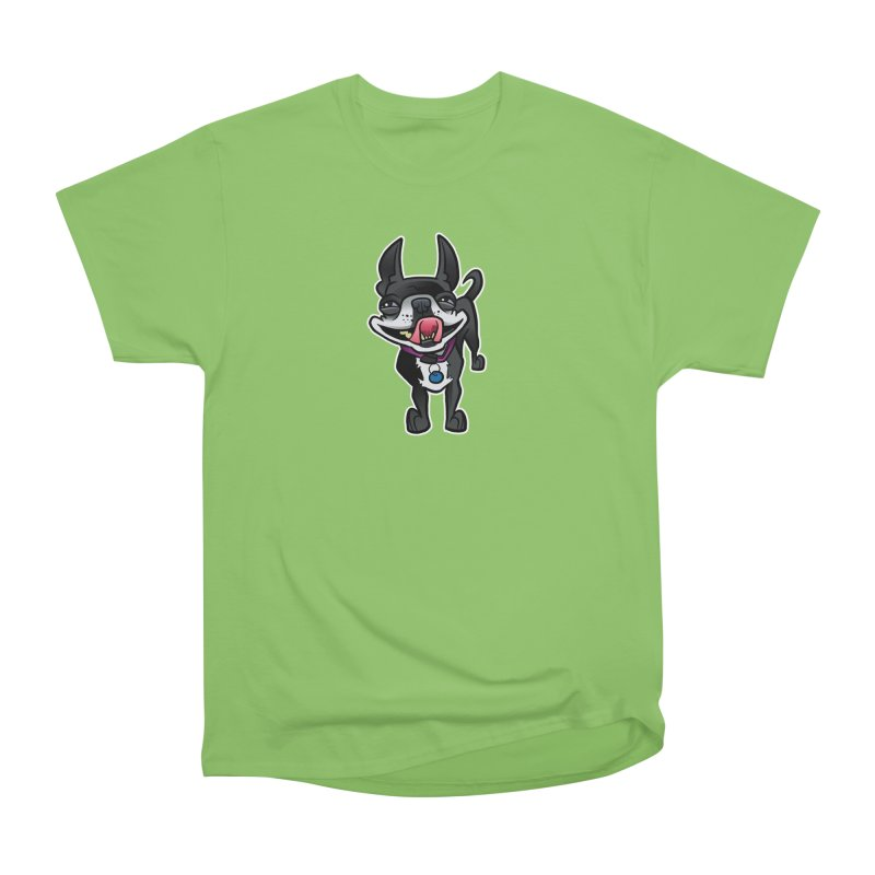 Yuk, Silly Dog Women's Heavyweight Unisex T-Shirt by binarygod's Artist Shop