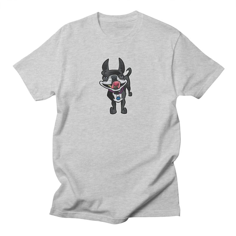 Yuk, Silly Dog Women's Regular Unisex T-Shirt by binarygod's Artist Shop