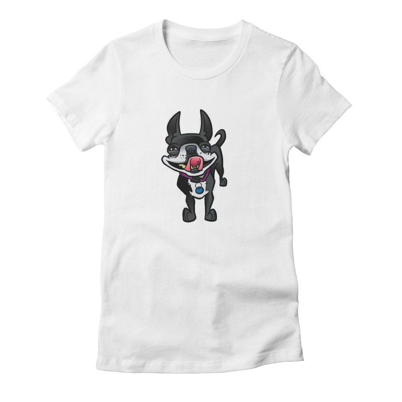 Yuk, Silly Dog Women's T-Shirt by binarygod's Artist Shop