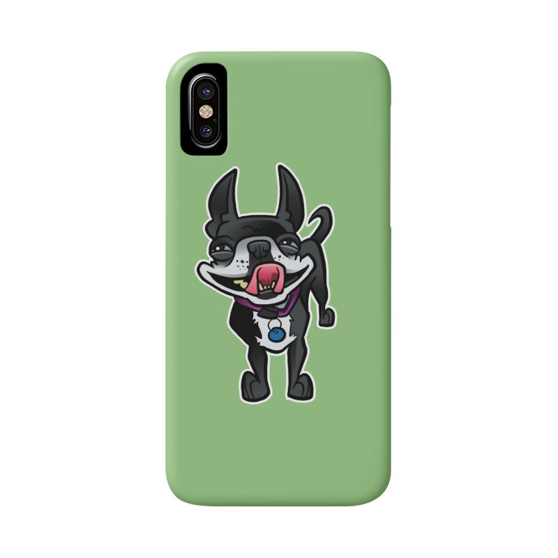 Yuk, Silly Dog Accessories Phone Case by binarygod's Artist Shop