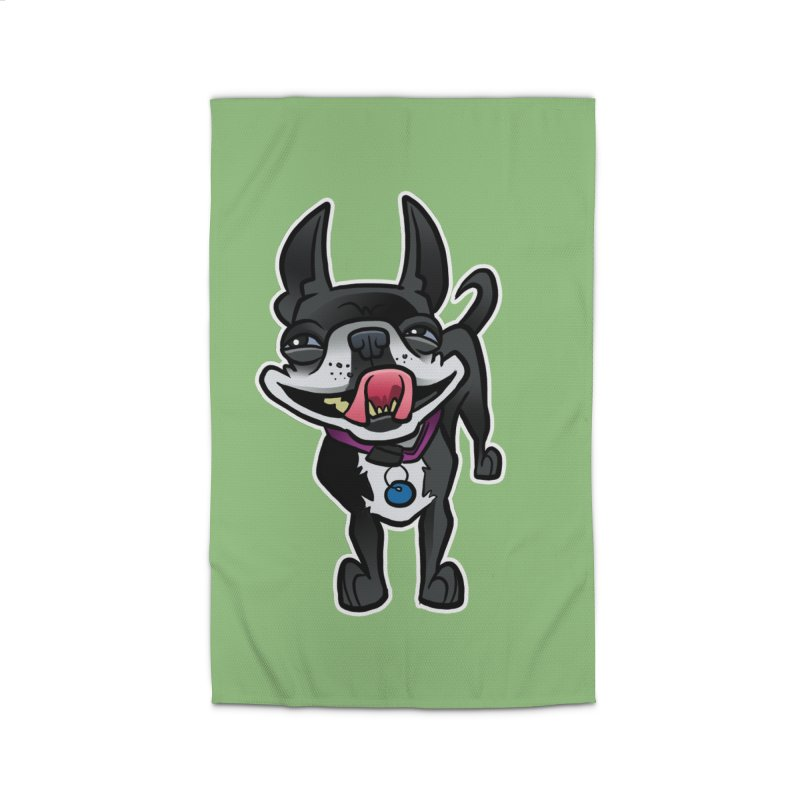 Yuk, Silly Dog Home Rug by binarygod's Artist Shop