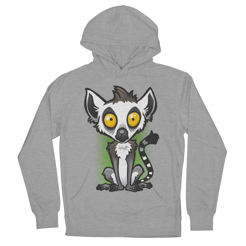 Ring-Tailed Lemur Women's Pullover Hoody by binarygod's Artist Shop