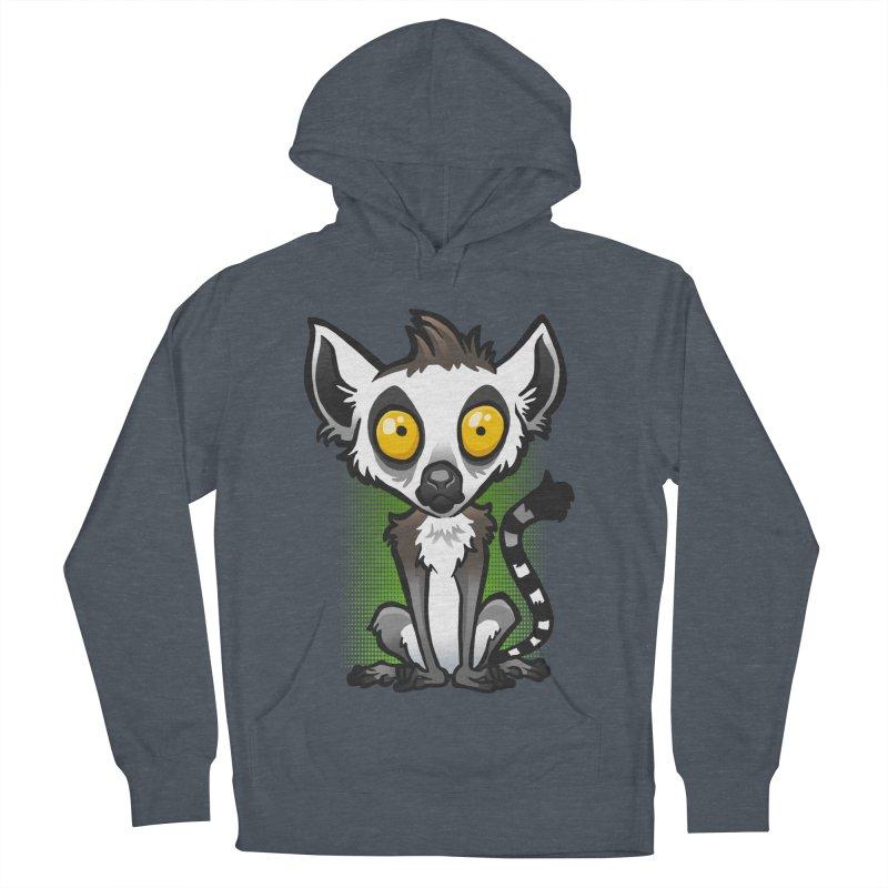 Ring-Tailed Lemur Men's Pullover Hoody by binarygod's Artist Shop