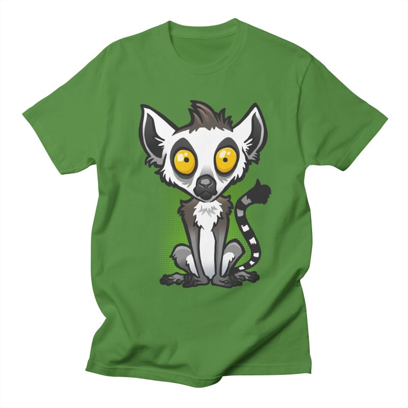 Ring-Tailed Lemur Men's T-Shirt by binarygod's Artist Shop