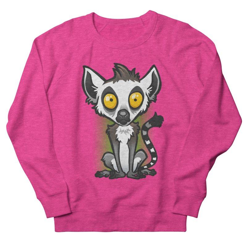 Ring-Tailed Lemur Women's Sweatshirt by binarygod's Artist Shop