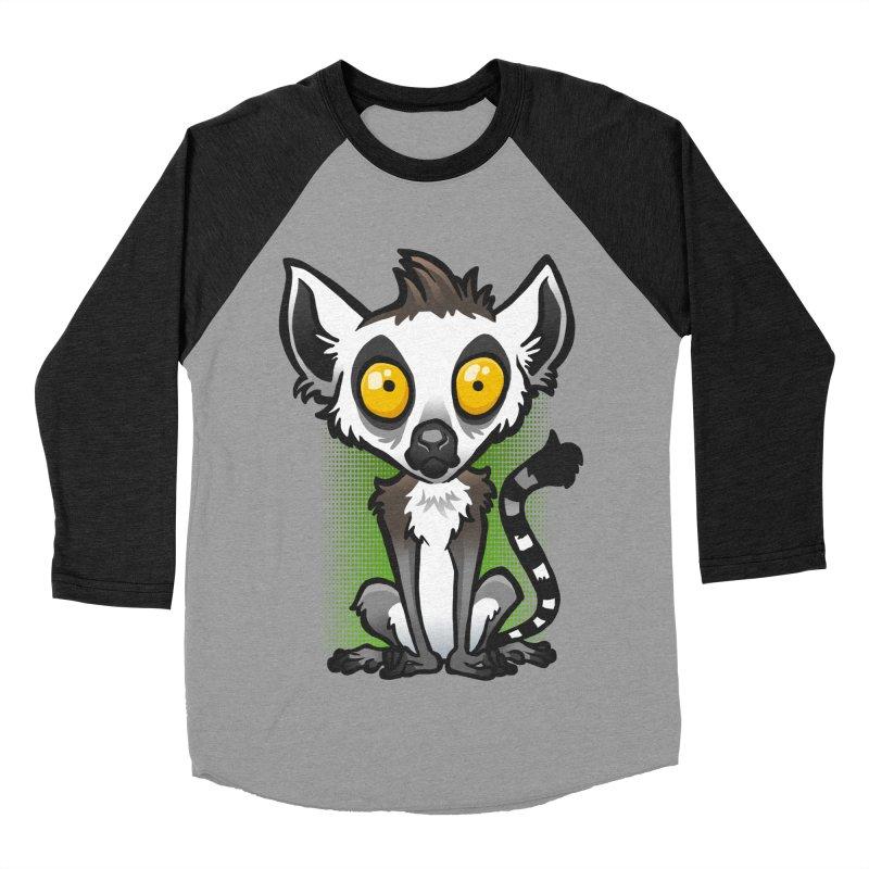 Ring-Tailed Lemur Women's Baseball Triblend T-Shirt by binarygod's Artist Shop