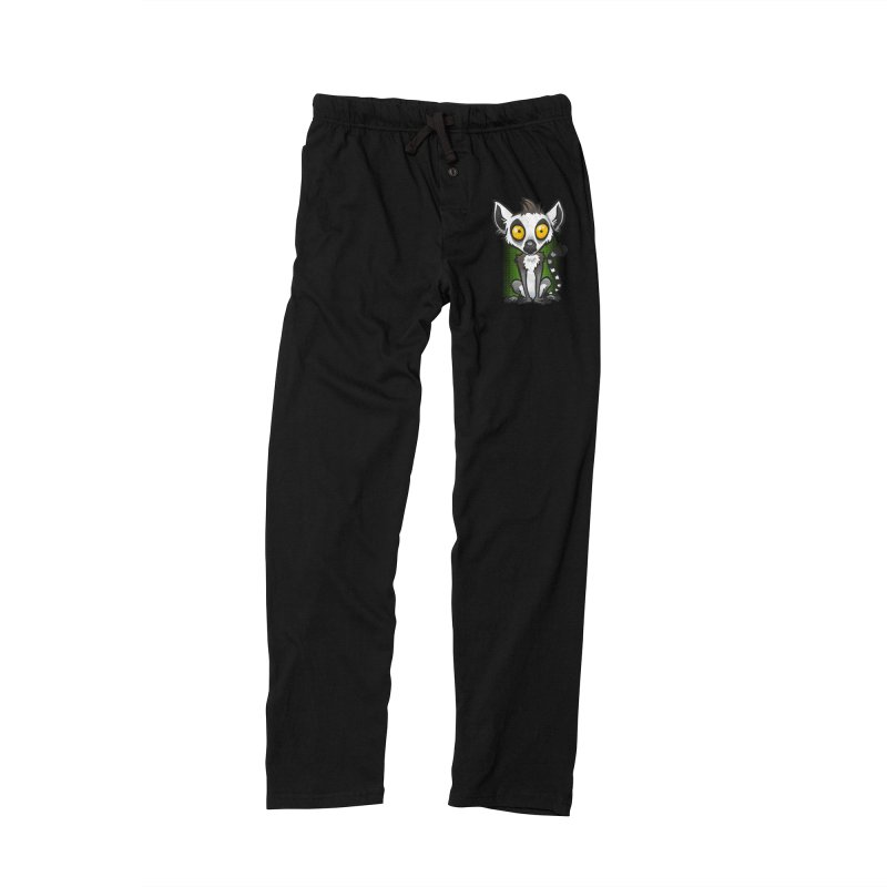 Ring-Tailed Lemur Men's Lounge Pants by binarygod's Artist Shop