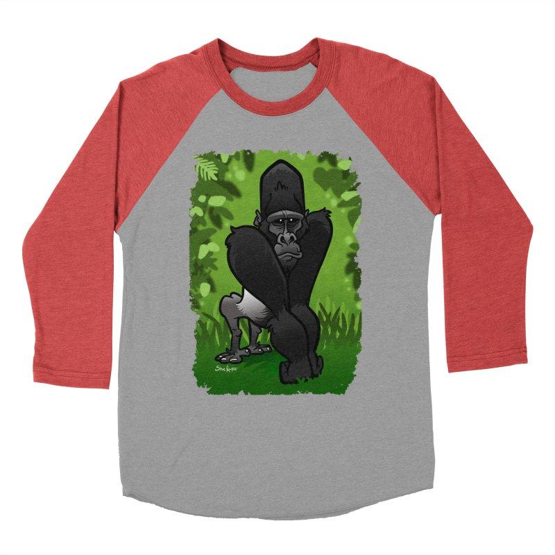 Silverback Gorilla Men's Longsleeve T-Shirt by binarygod's Artist Shop