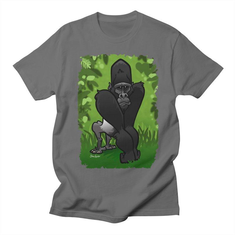Silverback Gorilla Men's T-Shirt by binarygod's Artist Shop