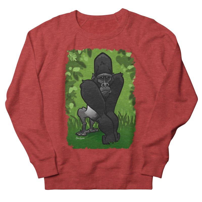 Silverback Gorilla Women's Sweatshirt by binarygod's Artist Shop