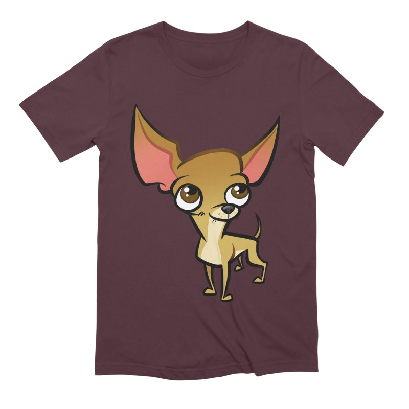 Chihuahua Men's Extra Soft T-Shirt by binarygod's Artist Shop
