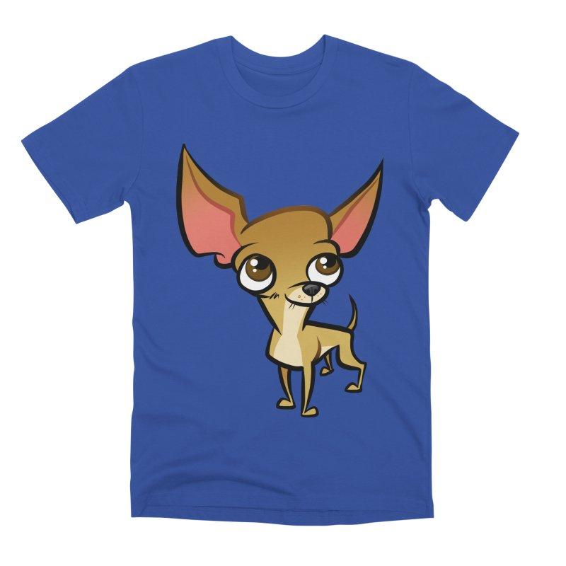 Chihuahua Men's Premium T-Shirt by binarygod's Artist Shop